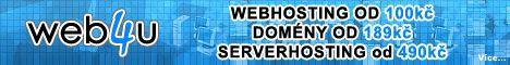 Levný webhosting, domény a serverhosting!